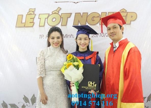 Thuê Aó tốt nghiệp Spa