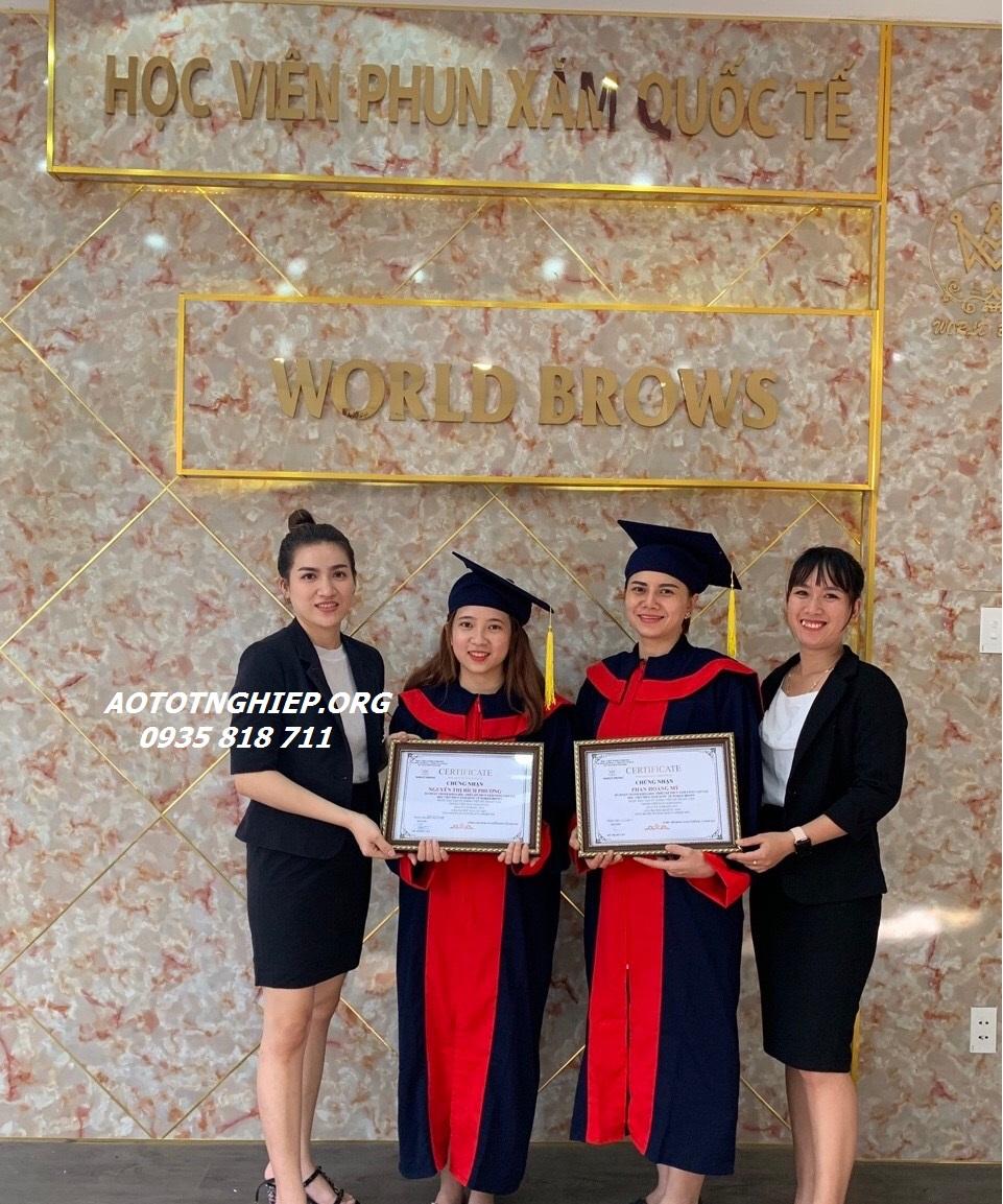 Aó cử nhân Aó tốt nghiệp Bình Định