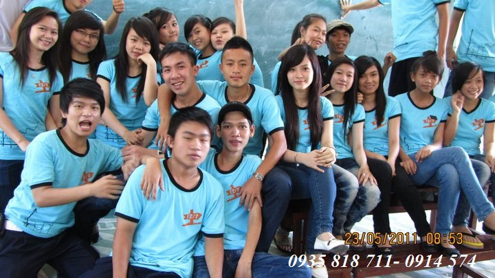 Aó thun Đồng Phục TP 07