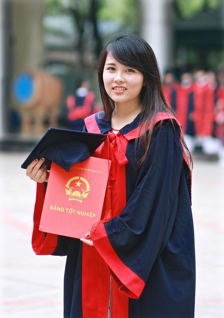 áo tốt nghiệp