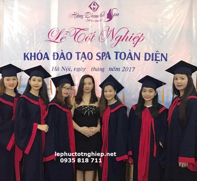 cho thuê áo tốt nghiệp 2018