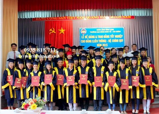 Lễ phục tốt nghiệp TP26