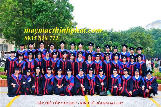 Lễ phục tốt nghiệp TP22