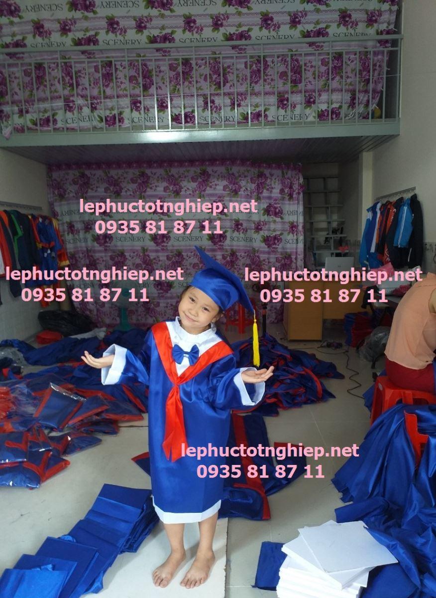 áo tốt nghiệp mầm non hcm